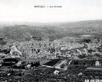 Manosque vers 1950